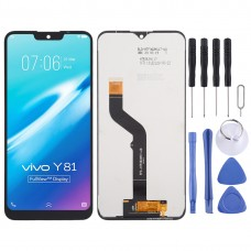 LCD Screen and Digitizer Full Assembly for Wiko Y81