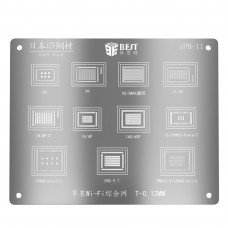 BEST BST-iPh-11 Wifi Reballing Stencils Template For iPhone