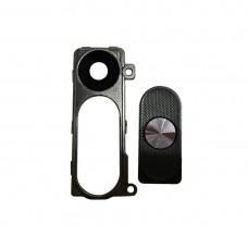 Back Camera Lens Cover + Power & Volume Buttons  for LG G3 / D855(Black)
