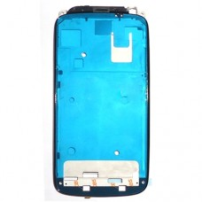 Front Housing LCD Frame Bezel Plate  for HTC One S(Black)