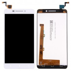 LCD Screen and Digitizer Full Assembly for Lenovo A5000 (White)