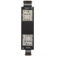 Micro SD Card & SIM Card Reader Flex Cable for Asus Zenfone 5 / A500CG / A501CG T00J