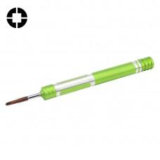 608-2.5 Hollow Cross Tip 2.5 Middle Bezel Repair Screwdriver(Green)