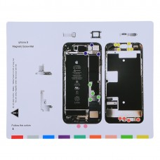 Magnetic Screws Mat For iPhone 8, Size: 25cm x 20cm