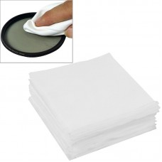 100 PCS 9.8 x 9.8cm Specialized LCD Screen Lens Glasses Cleaning Cloth for Camera / Mobile Phone