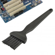 Electronic Component 7 Beam Flat Handle Antistatic Cleaning Brush, Length: 14cm(Black)
