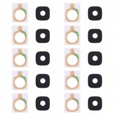 10 PCS Back Camera Lens Cover with Sticker for Galaxy C7 Pro / C7010