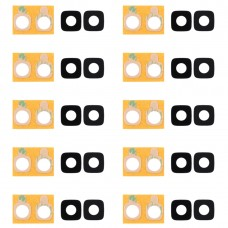 10 PCS Back Camera Lens Cover with Sticker for Galaxy J2 Prime