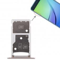 2 SIM Card Tray / Micro SD Card Tray for Huawei Enjoy 6 / AL00(Gold)