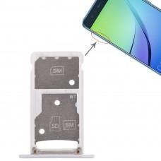 2 SIM Card Tray / Micro SD Card Tray for Huawei Enjoy 6 / AL00(White)