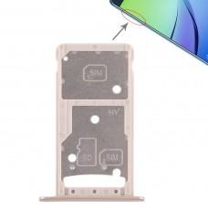 2 SIM Card Tray / Micro SD Card Tray for Huawei Enjoy 6 / AL10(Gold)