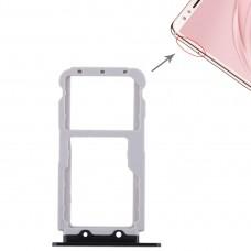 2 SIM Card Tray / Micro SD Card Tray for Huawei Nova 2s(Black)