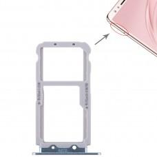 2 SIM Card Tray / Micro SD Card Tray for Huawei Nova 2s(Blue)