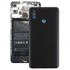 Back Cover for Xiaomi Mi Max 3(Black)