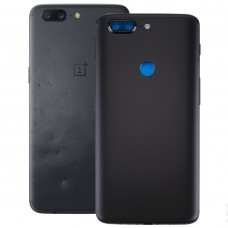 For OnePlus 5T Back Cover(Black)