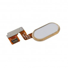 For Meizu M3 Note / Meilan Note 3 Home Button / Fingerprint Sensor Flex Cable (14 Pin)(Gold)