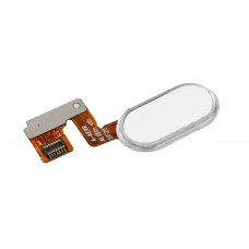 For Meizu M3 Note / Meilan Note 3 Home Button / Fingerprint Sensor Flex Cable (14 Pin)(White)