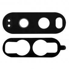 10 PCS Back Camera Lens with Adhesive for LG V20(Black)