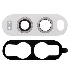 10 PCS Back Camera Lens with Adhesive for LG V20(White)