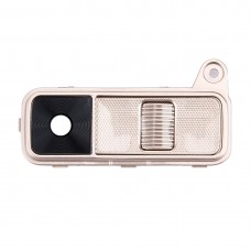 Back Camera Lens Cover + Power Button + Volume Button for LG K8(Gold)