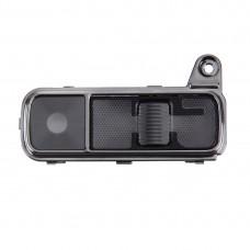 Back Camera Lens Cover + Power Button + Volume Button for LG K7(Black)