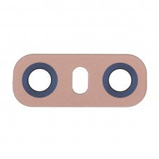 10 PCS Back Camera Lens with Adhesive for LG G6 H870/H871/H872/ LS993(Gold)