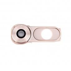 Back Camera Lens Cover + Power Button for LG V10 / H986 / F600(Gold)