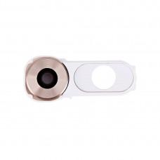 Back Camera Lens Cover + Power Button for LG V10 / H986 / F600(White)