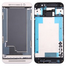 Front Housing LCD Frame Bezel Plate for HTC One M9 (Gold on Silver)