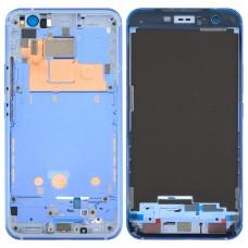 for HTC U11 Front Housing LCD Frame Bezel Plate(Blue)