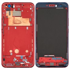 for HTC U11 Front Housing LCD Frame Bezel Plate(Red)