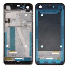 Front Housing LCD Frame Bezel Plate for HTC Desire 10 Pro(Black)