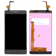 LCD Screen and Digitizer Full Assembly for Lenovo A6010(Black)