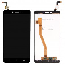 LCD Screen and Digitizer Full Assembly for Lenovo K6 Note(Black)