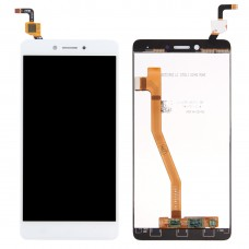 LCD Screen and Digitizer Full Assembly for Lenovo K6 Note LCD Screen and Digitizer Full Assembly(White)