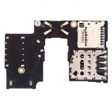 SIM Card Socket + SD Card Socket for Motorola Moto G (3rd Gen.) (Single SIM Version)