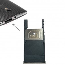 SIM Card Tray + Micro SD Card Tray for Motorola Moto X Style / XT1575(Silver)