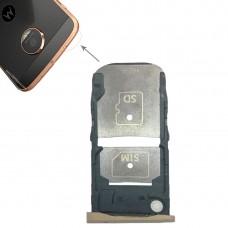 SIM Card Tray + Micro SD Card Tray for Motorola Moto Z Force