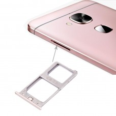 For Letv Le 1 Pro / X800 SIM Card Tray(Gold)