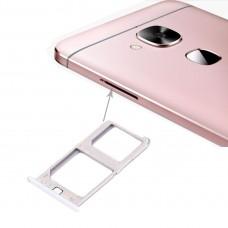 For Letv Le 1 Pro / X800 SIM Card Tray(Silver)