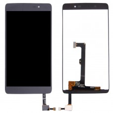 LCD Screen and Digitizer Full Assembly for Alcatel Idol 4 / 6055 / 6055i / 6055h / 6055k / 6055v (Black)