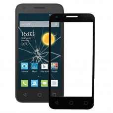 Front Screen Outer Glass Lens for Alcatel One Touch Pixi 3 4.5 / 4027 (Black)