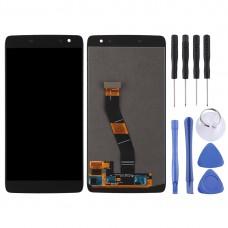 LCD Screen and Digitizer Full Assembly for BlackBerry DTEK60(Black)