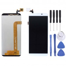 LCD Screen and Digitizer Full Assembly for OUKITEL K5(White)