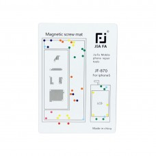 JIAFA Magnetic Screws Mat for iPhone 5