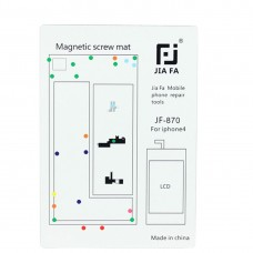 JIAFA Magnetic Screws Mat for iPhone 4