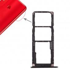 2 x SIM Card Tray / Micro SD Card Tray for Huawei Honor 8X Max (Black)