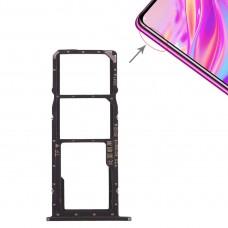 2 x SIM Card Tray / Micro SD Card Tray for Huawei Enjoy 9 (Black)