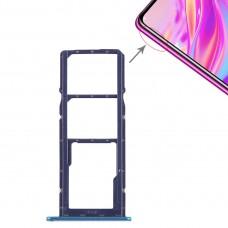 2 x SIM Card Tray / Micro SD Card Tray for Huawei Enjoy 9 (Blue)