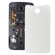 Battery Back Cover  for Google Nexus 6(White)